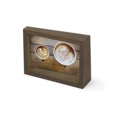 Рамка для фотографий edge 10x15 (цвет: состаренный орех)