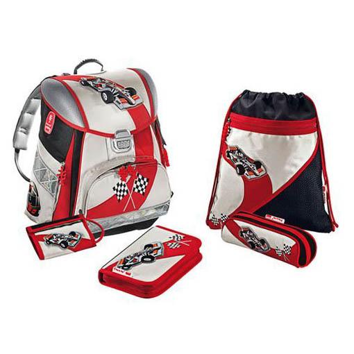 Школьный рюкзак с наполнением «Гонки»