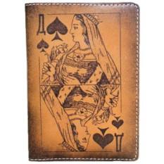 Обложка для паспорта Пиковая дама