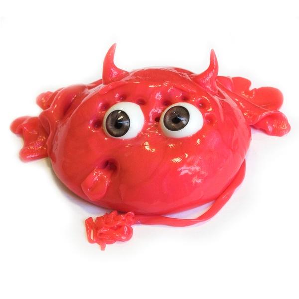 Игрушка-антистресс Neo Gum Monster (красный)
