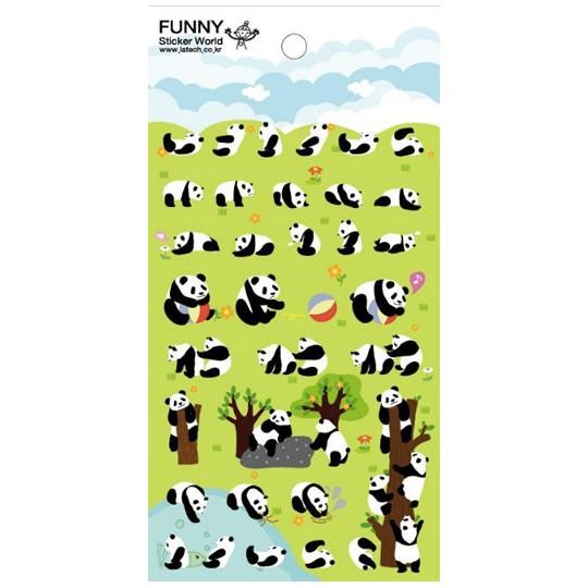 Декоративные наклейки Panda