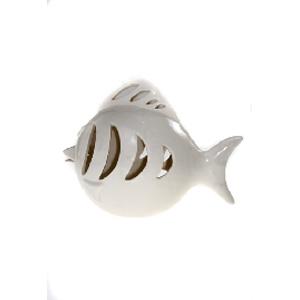 Подсвечник для свечи-таблетки «Рыба-полосатик»