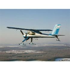 Школа пилотирования самолета + 30 минут полета (для троих)