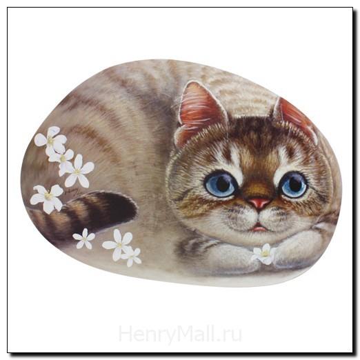 Салфетка под тарелку и приборы Кошка Энни