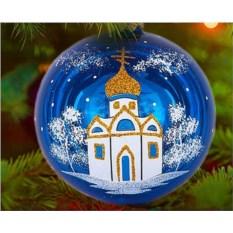 Елочная игрушка «Рождество»