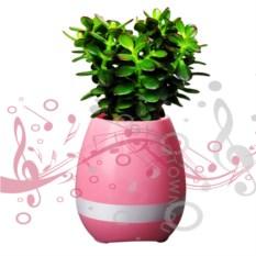 Умный розовый горшок для растений Smart Music Flowerpot