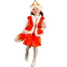Карнавальный костюм Лисичка,  3-7 лет