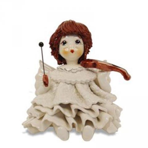 Статуэтка «Ангелочек со скрипкой»