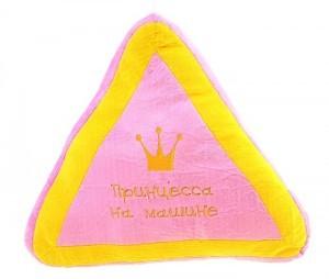 Подушка в машину Принцесса