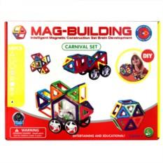 48 деталей магнитного конструктора Mag Building