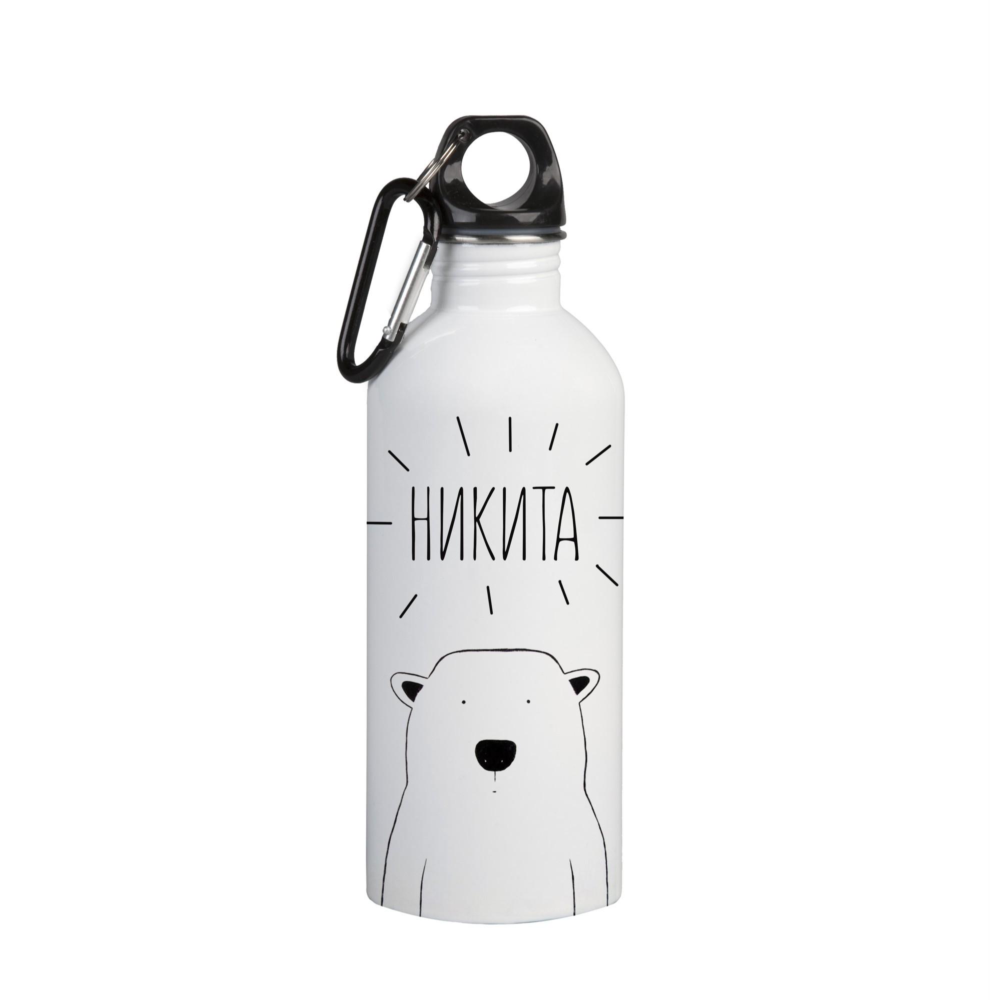 Именная бутылка для воды Никита