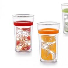 Заварочный стакан с двойной стенкой и крышкой Samadoyo