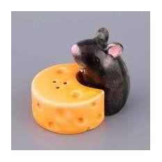 Набор для соли и перца «Мышка с сыром»