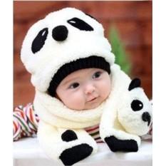 Набор: шапка и шарф Панда