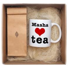 Именной чайный набор Love tea