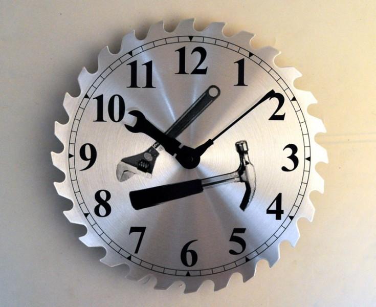 Часы настенные Пила