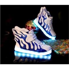 Светящиеся LED кроссовки с крыльями