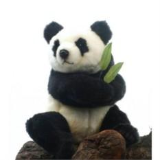 Мягкая игрушка Панда сидящая от HANSA