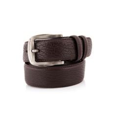Темно-коричневый мужской кожаный ремень G.Ferretti тип 93-3