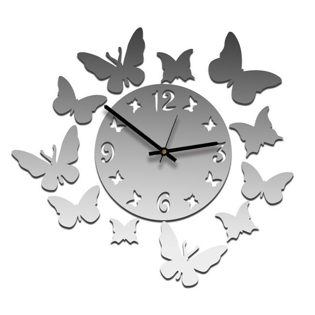 Часы Эффект бабочки, зеркальные