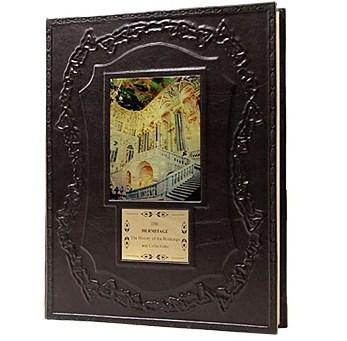 Книга на англ. языке «Эрмитаж. История зданий и коллекций»