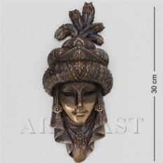 Венецианская маска Шахерезада (цвет: бронзовый)
