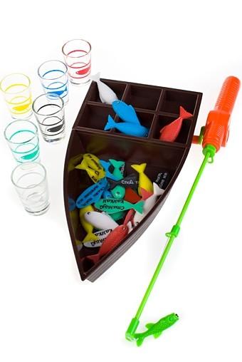 Настольная развлекательная игра Пьяная рыбалка