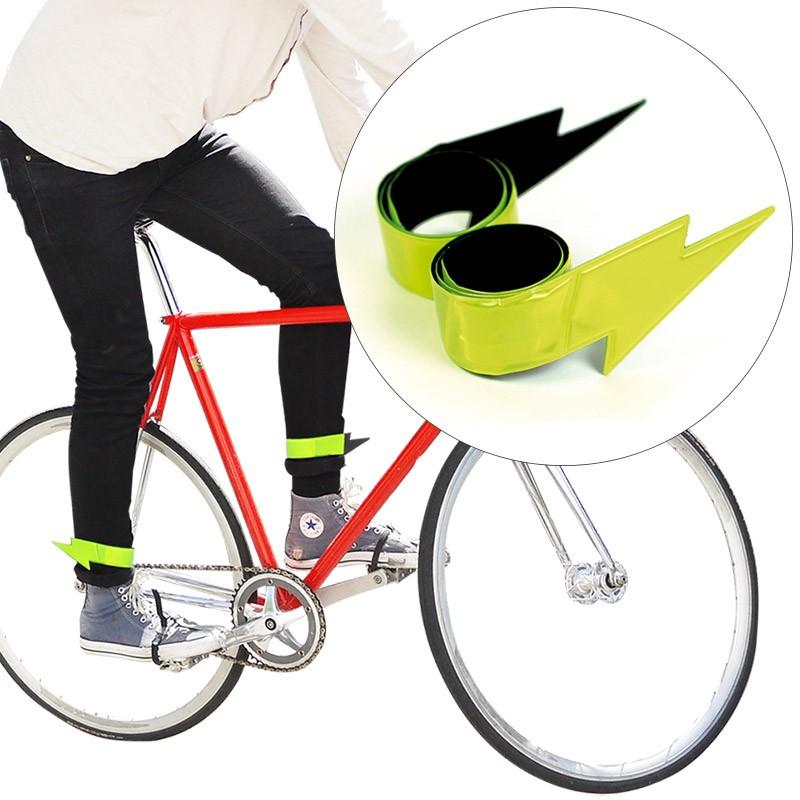Светящиеся маркеры-браслеты для велосипедиста