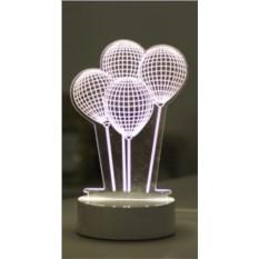 3D-светильник Воздушные шары