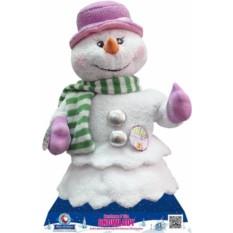 Новогодняя музыкальная игрушка Снеговик