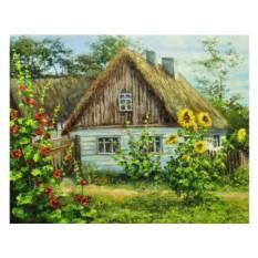 Алмазная вышивка «Лето в деревне»