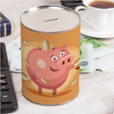 Именная копилка Свинка