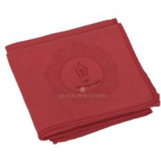 Красное полотенце для фитнеса Тонус
