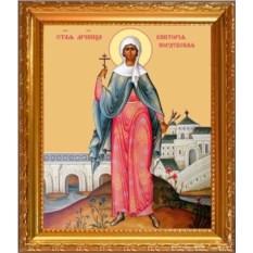 Икона на холсте Святая Виктория Кордубская (Кордувийская)