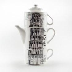 Чайный набор «Пизанская башня»