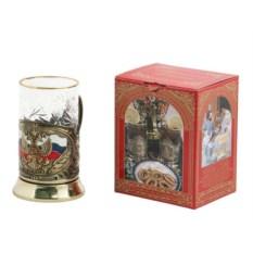 Подстаканник в подарочном коробе Герб России