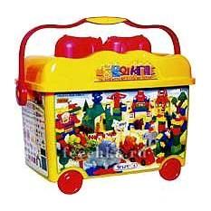 Игровой конструктор в контейнере Животный мир, Haenim toys