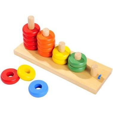 Детская игрушка Пирамидки-счет