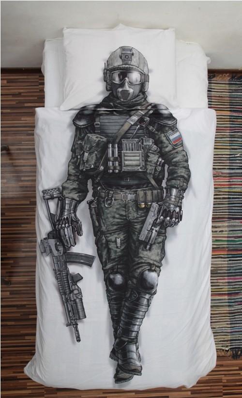 Комплект детского постельного белья Воин