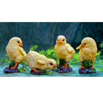Садовая фигурка Цыплята в ассортименте