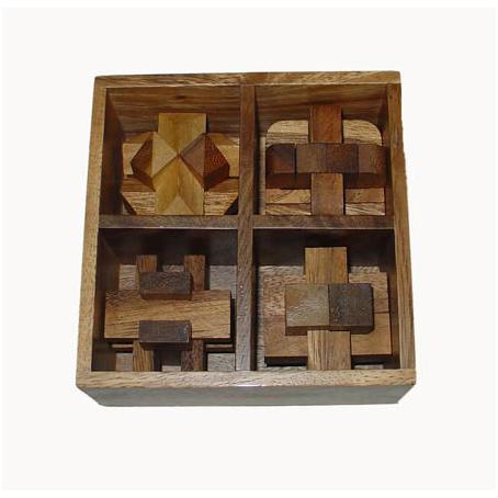 Набор из 4-х головоломок