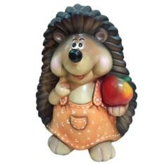 Декоративная фигура Ежиха с яблоком
