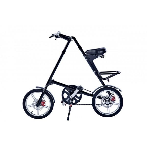 Черный складной велосипед FitBike