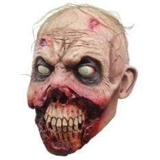 Латексная маска Погрызенное лицо