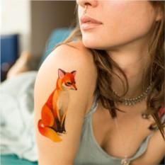 Татуировка переводная Sasha Unisex Classic fox