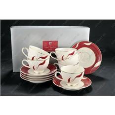 Чайный набор Dehila (чашки и блюдца)