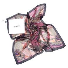Стильный шелковый большой платок Ungaro