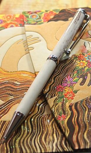 Шариковая ручка из Рога оленя
