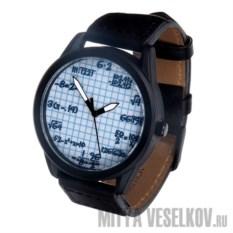 Часы Mitya Veselkov Формулы на клетке