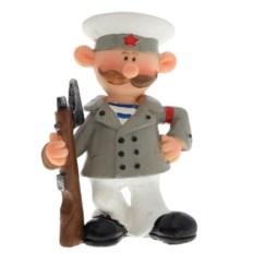 Декоративная фигурка Военный с ружьем